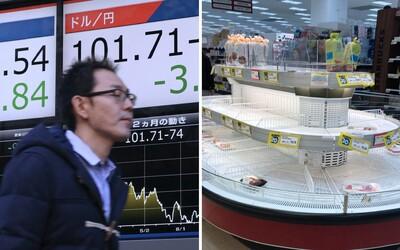 Koronavírus môže ohroziť skôr tvoju peňaženku než zdravie. Akciové trhy panikária a prudko klesajú. Prečo sa to deje?