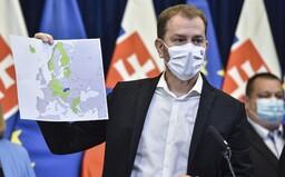 Koronavirus: Slovinsko vyřadí Česko ze seznamu bezpečných zemí, uvažují o tom i Slováci (Aktualizováno)