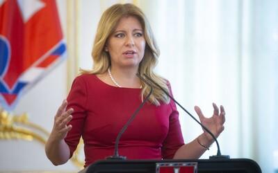 Koronavirus zničil program Zuzany Čaputové, která je v domácí karanténě. Zaměstnanec její kanceláře se setkal s nakaženým