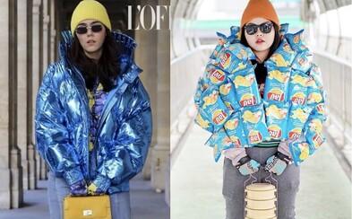 Korpulentná blogerka napodobňuje outfity celebrít za pomoci jedla. Vyrába ich zo svojich obľúbených pokrmov