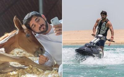 Korunní princ Dubaje si nežije špatně. Fazza má na kontě miliony a o životě zbohatlíka informuje i na Instagramu
