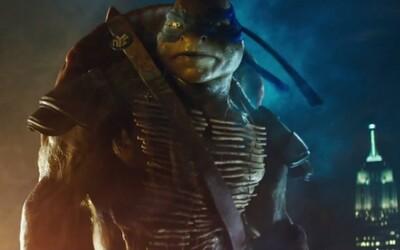 Korytnačky Ninja ožívajú s Megan Fox v nádejnom traileri