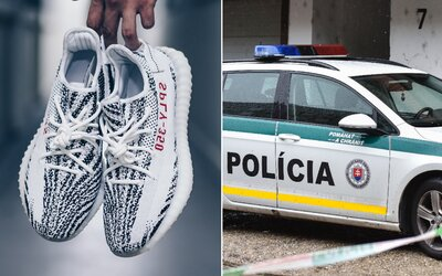 Košičana s nožom pri krku okradli o tenisky, teraz im hrozí 12 rokov vo väzení. Polícia vinníka vypátrala, lebo ich mal obuté