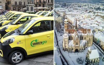 Košice budú mať prvý veľký carsharing na Slovensku