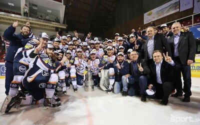Košice ovládli slovenskú hokejovú ligu a po ôsmykrát získali titul!