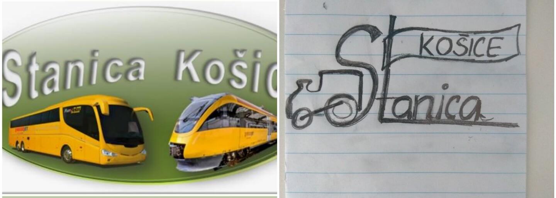 Košická stanica vyhlásila súťaž o nové logo. Samozvaní slovenskí grafici dokázali, že nemajú absolútne žiadny vkus