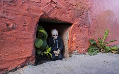 Kostlivci všade, kam sa pozrieš. Realita v mexickom meste
