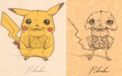 Kostry kreslených postavičiek od Michaela Paulusa