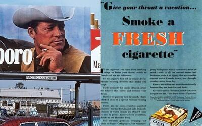 Kouřit doporučovali lékaři, Flintstoneovi i Santa Claus. Historie tabákové propagandy od podprahových reklam až po instagramové hashtagy