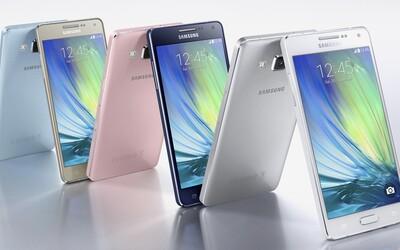 Kovové duo od Samsungu: Galaxy A5 a Galaxy A3