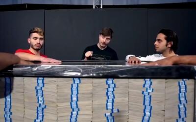 Krabici plnou peněz vyhraje ten, kdo na ní bude mít nejdéle ruku. Poslední challenge MrBeasta o 1 000 000 dolarů bude live
