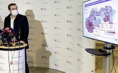 Krajčí: Krivka na Slovensku rastie, situácia sa zhoršuje v piatich krajoch