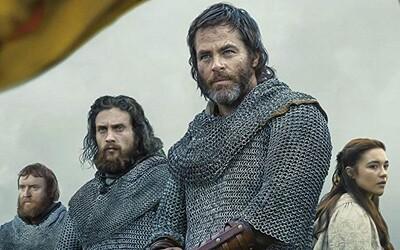 Kráľ Chris Pine vedie svoje vojská proti presile v epickom súboji o nezávislosť Škótska