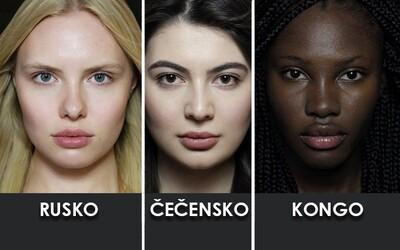 Krása nezná hranic. Nádherné ženy z různých etnik po celém světě tě o tom přesvědčí díky skvělému projektu