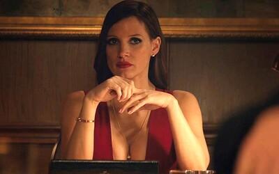 Kráska Jessica Chastain ako majiteľka luxusných pokerových herní bojuje v dramatickom skutočnom príbehu Molly's Game o svoj život pred súdom