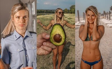 Krásna nemecká policajtka musela prerušiť kariéru modelky, potrebujú ju naspäť v uniforme. Adrienne sa už teší späť do ulíc