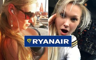Krásná pilotka Ryanairu si díky své práci užívá dokonalý život. Pokud nesedí v kabině, pak poznává ty nejkrásnější kouty Evropy