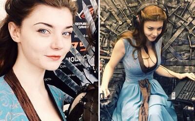 Krásná Ruska Xenia svým cosplayem jako by z oka vypadla Natalie Dormer. Seriálová Margaery má silnou konkurenci