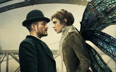 Krásná víla Cara Delevingne a detektiv Orlando Bloom budou ve fantasy seriálu pátrat po brutálním vrahovi