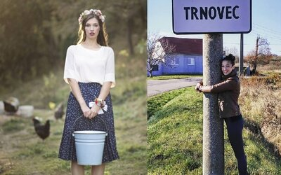 Krásna Zdenka sa chce odfotiť v každej obci Slovenska. Bývalá finalistka Miss Universe výzvu dokumentuje i na Facebooku