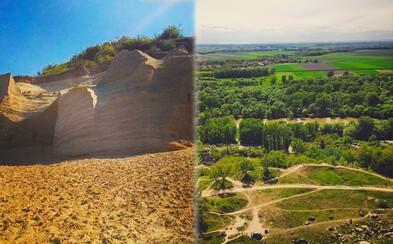 Krásne výhľady, piesočná pláž a príroda. Aj tak by sa dal charakterizovať Sandberg - kopec na kraji Bratislavy