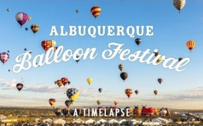 Krásny Time Lapse z festivalu horkovzdušných balónov