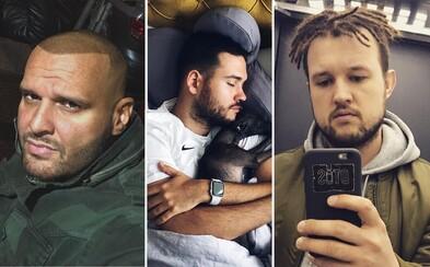 Krátký upravený účes a brada nebo stylové dredy a tetování. Jakou vizáž aktuálně volí čeští a slovenští rapeři?