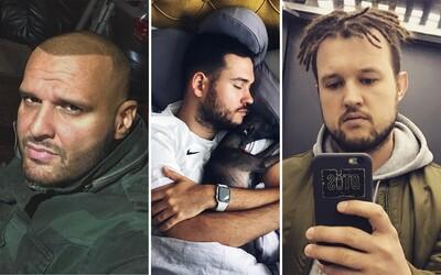 Krátky upravený účes a brada alebo štýlové dredy a tetovanie. Akú vizáž volia aktuálne českí a slovenskí raperi?