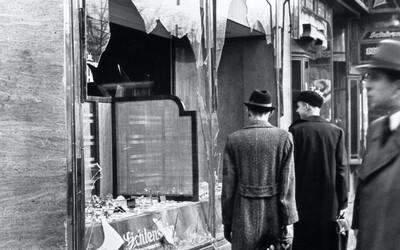 Křišťálová noc: Tisíce rozbitých výloh, 91 mrtvých a 30 tisíc lidí poslaných do koncentračních táborů
