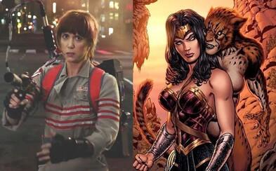Kristen Wiig si v pokračování Wonder Woman zahraje záporačku jménem Cheetah. O čem bude dvojka a vrátí se Chris Pine?