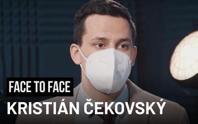 Kristián Čekovský z OĽaNO: Matovič podľa mňa do stredy neodstúpi (Videorozhovor)