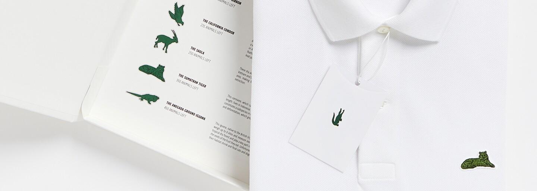 Krokodýla značky Lacoste nahradil delfín, želva, tygr a jiná ohrožená zvířata v rámci podpůrné kampaně