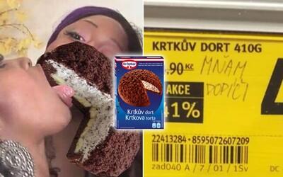 Krtkův dort od Dr. Oetkera pobláznil internet. Vtipné memes si utahují z politiků, obchodů i známých kuchařů