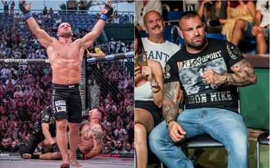 Krvavá MMA show pod otevřeným nebem: Oktagon 7 do Prahy přinesl elitní bojovníky a boj o titul mistra těžké váhy