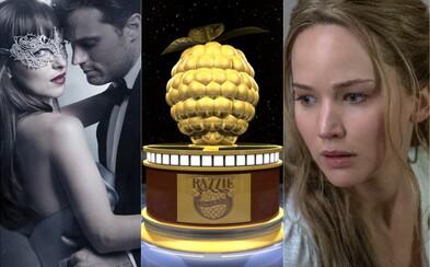 Který film za rok 2017 se stane tím nejhorším? Na Zlaté maliny jsou nominováni Transformers, Fifty Shades Darker, ale i Mumie