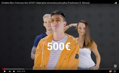 Kto sa ako prvý pokúsil o tohtoročný letný hit a ako vyzerá najkrajšia slovenská policajtka? (Freshnews)