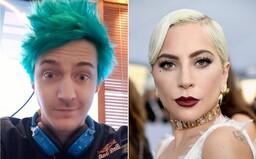 Kto si? Lady Gaga neprijala návrh streamera Ninju, aby jej vysvetlil, čo je Fortnite. Skomolila aj názov populárnej hry