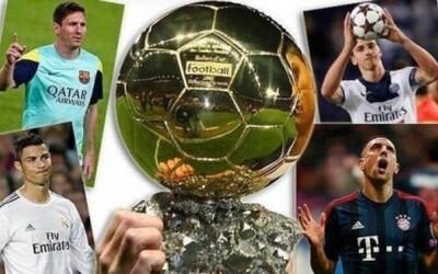 Kto vyhrá Zlatú loptu za rok 2013 a stane sa najlepším futbalistom?