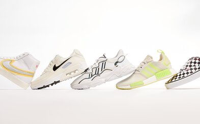 Která značka nám během letních měsíců představuje nejzajímavější tenisky? Tempo udávají zejména kousky od Nike a Vans