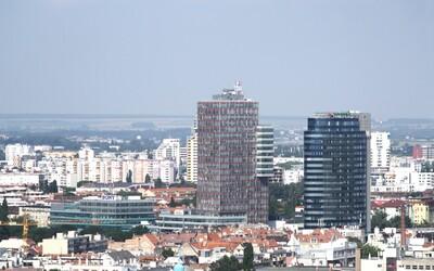 Ktoré budovy sú v Bratislave najvyššie? Slovenské výškové stavby ilustrujú ľudia z celého sveta