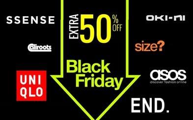 Které obchody s oblečením mají na Černý pátek nejlepší výprodeje?