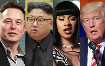 Ktoré osobnosti sú najvplyvnejšie na svete? Výber magazínu TIME obsahujúci 100 ľudí je zložený z politikov, hercov, spevákov či športovcov