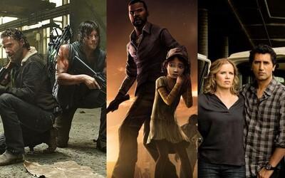 Ktoré postavy z obrovského univerza The Walking Dead sa spolu stretnú?