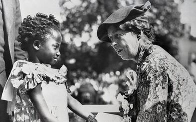 Ku Klux Klan vypsal odměnu na její hlavu. Eleanor Roosevelt byla první dámou světa