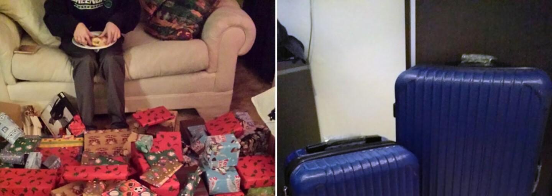 Kufre na odsťahovanie alebo kalendár s vlastnými trápnymi fotkami. Toto sú tie najvtipnejšie vianočné darčeky z celého sveta