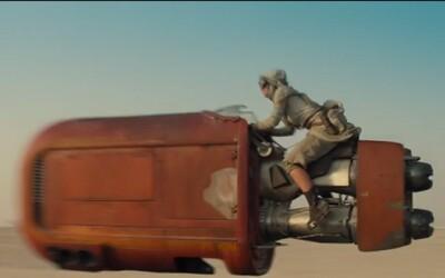 Kultové Star Wars pokračujú prvým trailerom pre Epizódu VII, Sila sa prebúdza!