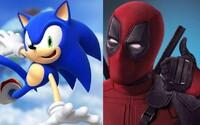 Kultového naspeedovaného Sonica prinesie na strieborné plátna režisér Deadpoola