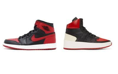 Kultovní barevná provedení tenisek Air Jordan 1 okopírovala luxusní značka
