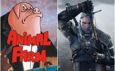 Kultovní kniha Farma zvířat od George Orwella se stane videohrou. Pracují na ní lidé, kteří se podíleli na Zaklínači 3 nebo Fable