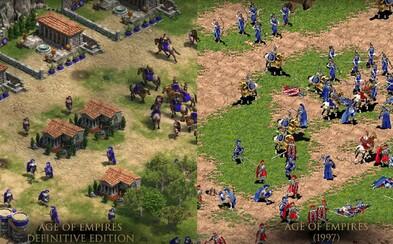 Kultová stratégia Age of Empires sa vracia! K dvadsiatemu výročiu dostane kompletný 4K remake